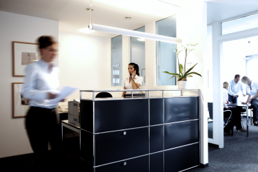 Grunewald Walther reception 374x250 - business / office