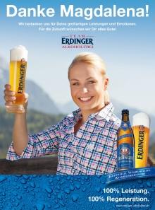 Magdalena-Neuner-Plakatkampagne-für-Erdinger-220x297 Advertising  - Ingo  Boddenberg, Photography, Düsseldorf