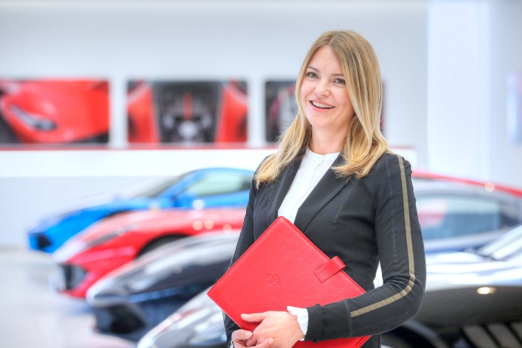 Maranello Motors Simone Herzog sales 753x502 - business / office